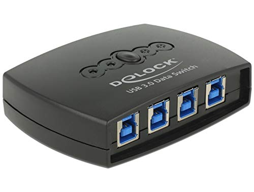 DeLock USB 3.0 Sharing Switch 4 1 -