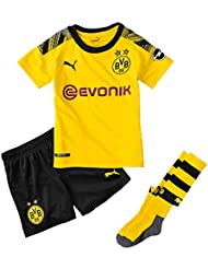 0b20e5a3c77be Puma BVB Home Minikit Socks Evonik with Opel Logo Maillot Mixte Enfant