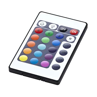 Biard infrarouge 3 canaux IR 24 touches pour Bande RGB 24 Biard Options, trois canaux & sans fil