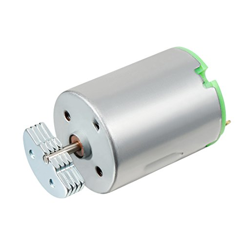 Sourcingmap Vibration Motor, DC 12V, 26800rpm Elektrische Terminals Vibrating Micro Motor
