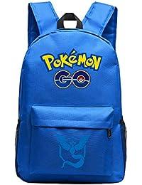 CTOOO Pokmon Go Mochila De Juego De Anime Bolsa De Pokémon Para Hombres Y Mujeres