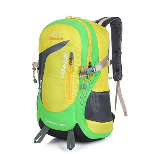 SZH&BEIB Im Freien wasserdichte Tasche Klettern Wanderrucksack Multifunktions-Camping Sport 35L A