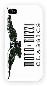 iPhone 4 ou 4S, Moto Guzzi Classic Logo Art, Nouveau Printed cas dur de téléphone - Coque de protection - Installez le - Haut Quaility