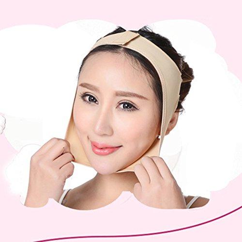 Generic L: Dünne Gesichtsmaske Doppelkinn Wangen Abnehmen Bandage Gesichts Dünne Masseter Hautpflege Lift up Thin Face Verband Gã¼rtel Gesundheitsversorgung Werkzeug