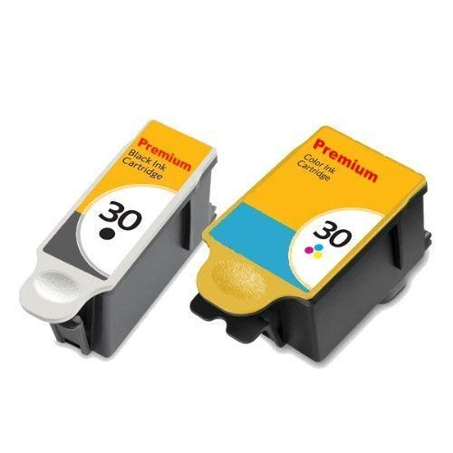 Compatible cartuchos tinta Kodak 30BK 30C ESP 1,2