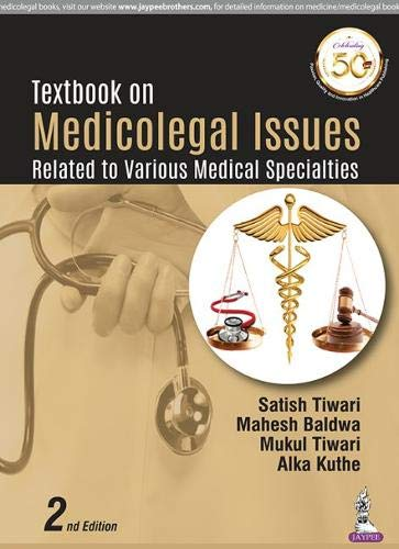 Textbook On Medicolegal Issues: Related to Various Medical Specialties