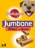 Pedigree Jumbone Small Dog Treat with Beef, Pack of 8 (Total 32 Treats)