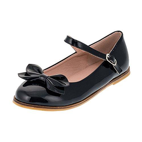 Festliche Kinder Mädchen Ballerinas Schuhe für Partys und Freizeit in Vielen Farben M297bl Blau Gr.29