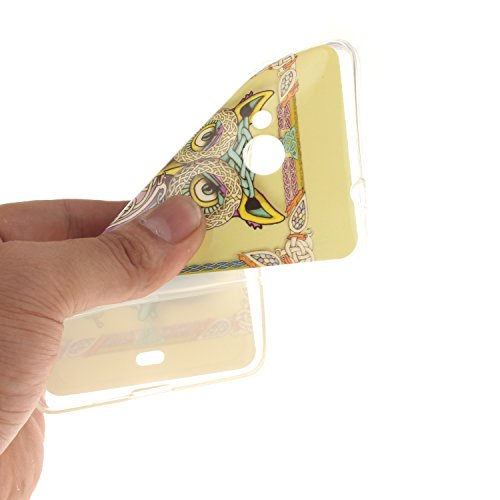 Nancen Nokia Microsoft Lumia 535 / n535 (5,0 Zoll) Ultra Slim Weich TPU Material Design Silikon Handytasche Schutzhülle, Painted Mode Anti-Kratz Handyhülle Case Hülle Backcover Tasche