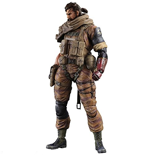Square Enix - afgsqx226 - 25 kg Zierkies V Phantom Brot - Play Arts - Kai - Venom Snake Gold Tiger