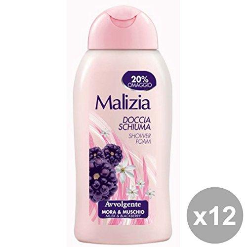 Scheda dettagliata MALIZIA Set 12 Doccia MoraΜschio Avvolgente 300 Ml. Saponi E Cosmetici