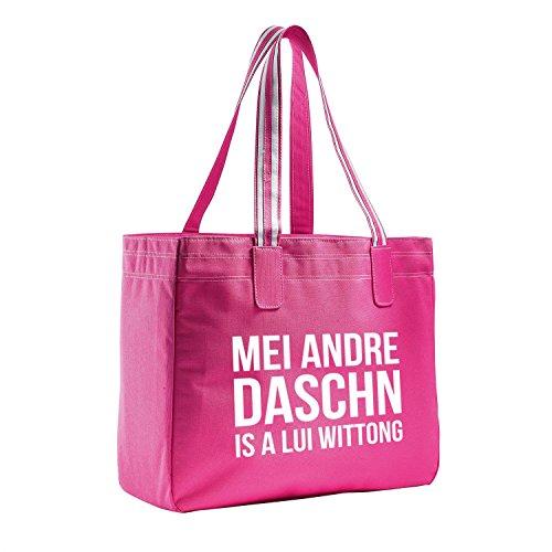 "Beach Bag ""Lui Wittong"" pink"