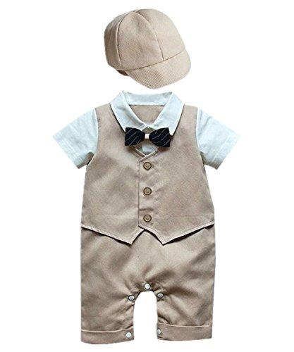 iiniim Baby Jungen (0-24 Monate) Spieler Gr. 12-18 Monate, Grün - Khaki (Spieler Cap)