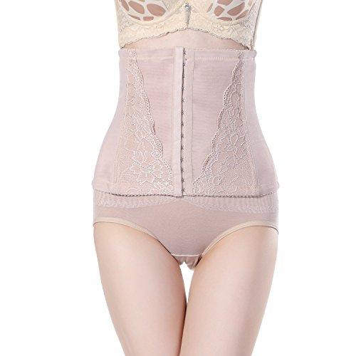 Fzmix Women's Tummy Control Underbust Slimming Underwear Shapewear Body Shaper Control Waist Cincher Firm Bodysuits -