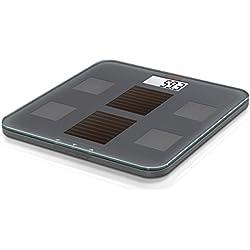 Soehnle 63342 - Báscula digital con análisis corporal y función solar