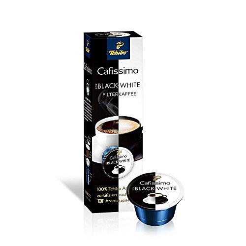 Preisvergleich Produktbild Tchibo Cafissimo Black´n White,  10 Kaffee-Kapseln