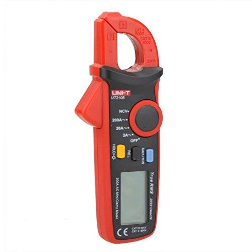 Uni-T ut210b True RMS 200A AC Mini Clamp Meter Amperemeter w/NCV Test & LCD Hintergrundbeleuchtung True-rms-mini Clamp Meter