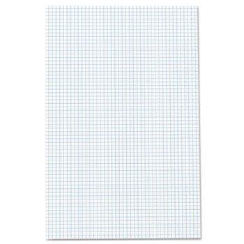 Ampad Quadrille Pads, 11x 17, weiß, 50Blatt (Graph-pad-11x17)