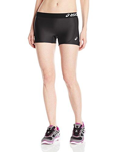 Asics Damen Team Shorts, damen, schwarz / schwarz