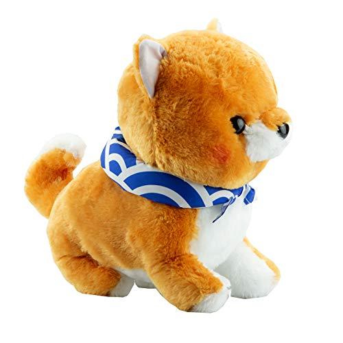Shiba chien comme Marin de Marin peluche douce et duveteuse avec Uniforme en bleu - Chat en peluche et à Chouchouter. Petit Cat Merchandise câlins peluche pour tous les Anime Fan ou pour chaque enfant Grand et petit cadeau
