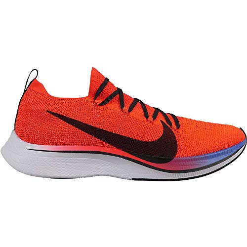 Nike VAPORFLY 4% Flyknit, Zapatillas de Atletismo Unisex Adulto, Multicolor (Bright Crimson/Black/Sapphire/White 000), 47.5 EU