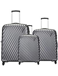 Aristocrat by VIP Target NXT (Set of 3 Pieces) Small Medium and Large Polycarbonate 4W HARDSIDED Luggage