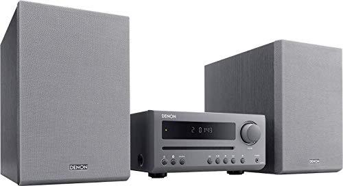 Denon D-T1 Kompaktanlage, Stereoanlage mit Bluetooth, CD-Player, UKW-Radio, optischer Eingang