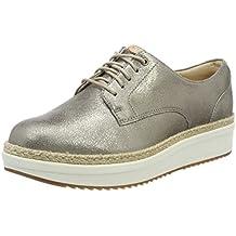 Clarks Teadale Rhea, Zapatos de Cordones Brogue para Mujer