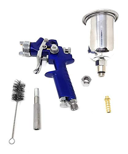 0.8mm HVLP Mini spray 125ml Pistola aire comprimido