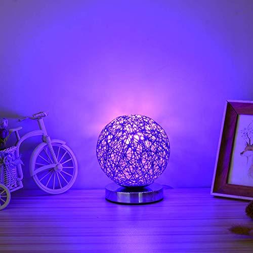 Romantische LED Rautenpaar kleine Nachtlicht mit Gangschaltung Schlafzimmer Kopf rosa Paare flirtische Atmosphäre kleine Tischbeleuchtung