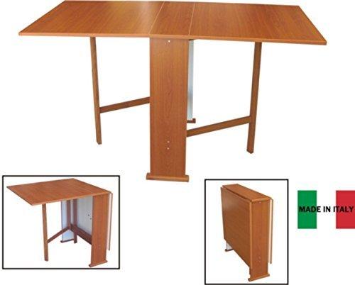 Liberoshopping tavolo susanna a consolle richiudibile ciliegio