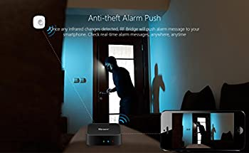 3 In 1 Kits:sonoff Rf Bridge Wifi 433mhz + Pir2 Pir Infrared Human Sensor + Dw1 Door & Window Alarm Sensor For Smart Home Remote Control By Ios Android Works With (Amazon Alexa Google Home) 2