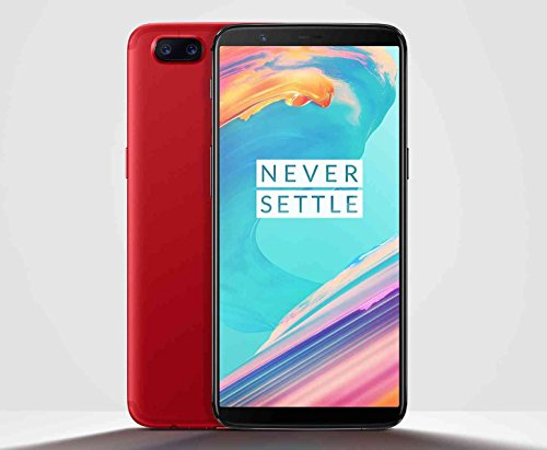 "OnePlus 5T A5010 Snapdragon 835 6"" Dual SIM Smartphone 8+128GB Rosso"