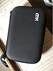 Ganix HDD Hard Case/Cover /Pouch for 2.5 inch Portable Hard Drive - (Compatible with Seagate, Toshiba, WD, Sony, Transcend)