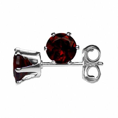 4mm-round-faceted-deep-red-genuine-garnet-925-sterling-silver-ear-stud-earrings-pair