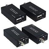 HDMI 1.3 Extender/Verstärker | HDMI-Repeater/Signalverstärker | UHD 480p, 576p, 720p, 1080p/225MHz | HDMI-Buchse zu HDMI-Buchse | aus Aluminium | bis zu 100m max. Entfernung Entfernung