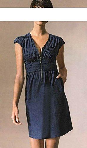 Mandarin -  Vestito  - plissettato - Donna Blau