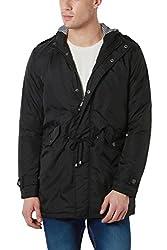 Peter England Black Regular Fit Jackets_EJK51407668_L