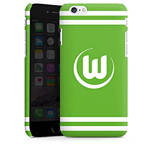 Apple iPhone X Silikon Hülle Case Schutzhülle Vfl Wolfsburg Fanartikel Wölfe Fussball Premium Case matt