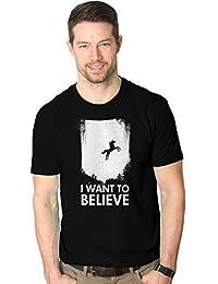 I Want a creer en unicornios T camiseta divertida mágico unicornio Tee