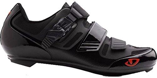 Giro Apeckx II Rennrad Fahrrad Schuhe schwarz/rot 2019: Größe: 49