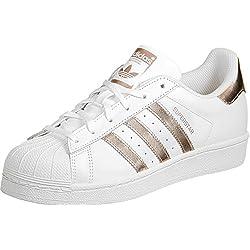 adidas Superstar W, Scarpe da Ginnastica Basse Donna