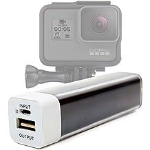 Banca Di Potere | Batteria Portatile Per GoPro Hero5 Black / Session | Hero4 | Hero 3 / 2 + Cavo USB - MicroUSB - DURAGADGET