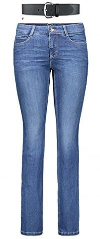 MAC Dream Damen Jeans Hose 0355l540190 F17, Farbe:D569;Größe:W40/L30