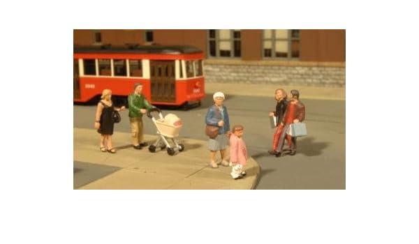 Bachmann 6 Figuren Fußgänger 33159 NEU Spur 0