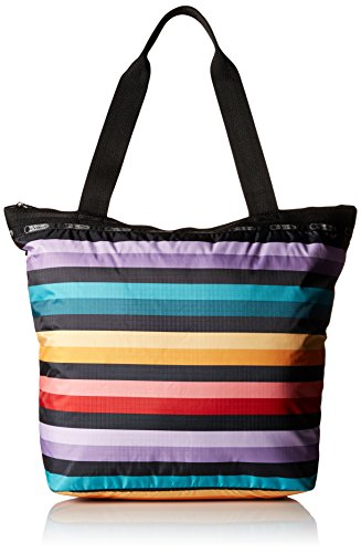 lesportsac-hailey-tote-wide-ruled-multi-color-stripes