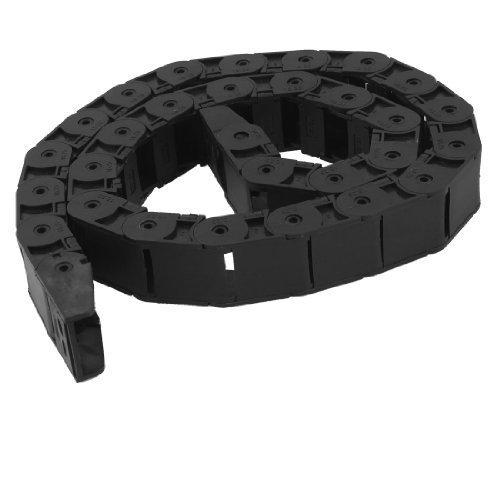 Machine Tool R55 18 mm x 25 mm-Noir-Frein de chaîne câble en plastique de transport