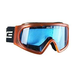 Salice MV840BG Masque de Ski-Junior-Verres Orange-Bleu