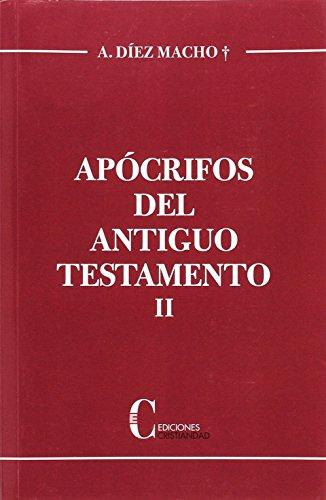 Apócrifos del Antiguo Testamento. Tomo II editado por Cristiandad, ediciones