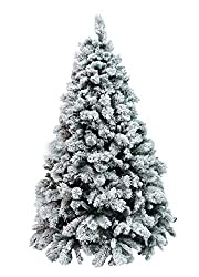 Xone Milton, albero di Natale artificiale, versione innevata, da 180, 210, 240 e 270